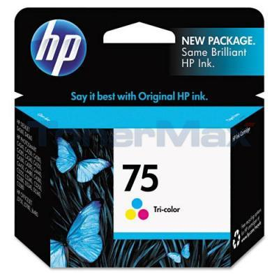 HP NO 75 INK TRI-COLOR